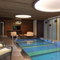 Pool by Роман Леонидов - Архитектурное бюро, Minimalist
