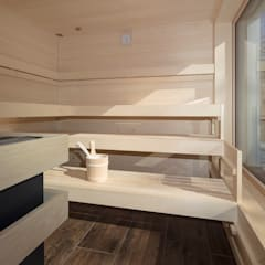 Sauna by Wedi GmbH Sucursal España, Modern