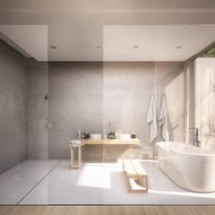 Hoteles de estilo  por S-AART, Minimalista