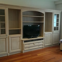 اتاق نشیمن توسطMobili a Colori , شمال امریکا چوب Wood effect