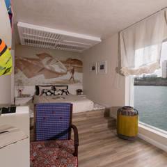 Apartamento da 'Kite Surf': Quartos  por KELLY ALMEIDA,Mediterrâneo