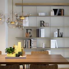 Paredes de estilo  por marco tassiello architetto, Minimalista