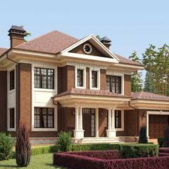 Villas by Архитектурная студия AM-SEO Евгения Содылева, Colonial Stone