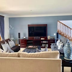 2015 Classical Interior Renovation - Revisited 2019:  Media room by CS DESIGN, Classic