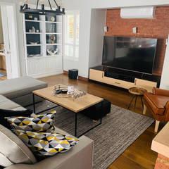 Fourways Project Modern living room by CS DESIGN Modern