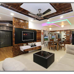 Azjatycki salon od AARAYISHH (Mumbai & Pune) Azjatycki