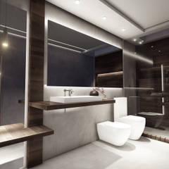 Proyecto Pacheco - Mayo 2019 Baños modernos de Hito Arquitectura Moderno