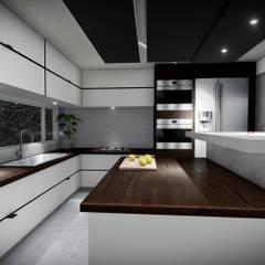 Proyecto Pacheco - Mayo 2019: Cocinas de estilo  por Hito Arquitectura,Moderno
