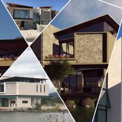 Дома на одну семью в . Автор – Arqcubo Arquitectos, Минимализм ДПК