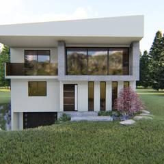 Дома на одну семью в . Автор – Ziat Interior Design, Минимализм