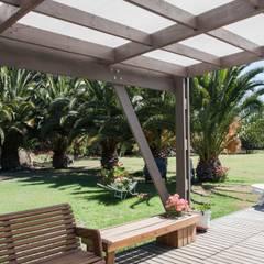 Lean-to roof by MACIZO, ARQUITECTURA EN MADERA, Modern Wood Wood effect