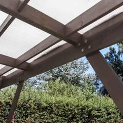 หลังคาเอียง โดย MACIZO, ARQUITECTURA EN MADERA, โมเดิร์น ไม้ Wood effect