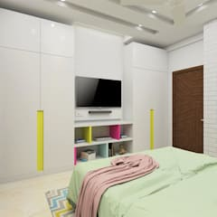 Modern style bedroom by Tanish Dzignz Modern