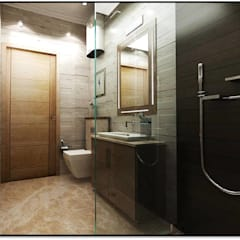 Teenager Boy Bedroom Modern bathroom by Tanish Dzignz Modern