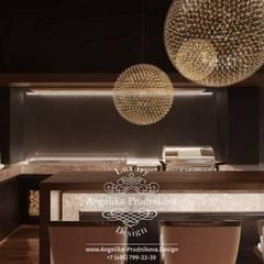 Terrace by Дизайн-студия элитных интерьеров Анжелики Прудниковой, Rustic