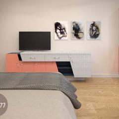 спальня: Детские спальни в . Автор – idem, Модерн