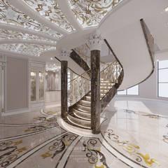 Stairs by Студия дизайна интерьера Руслана и Марии Грин, Classic