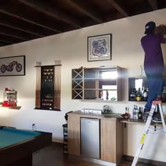 ห้องสันทนาการ โดย IHC Casa Inteligente, มินิมัล