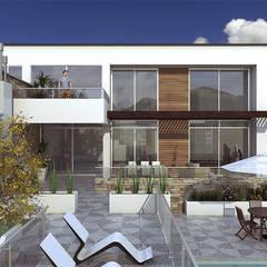 Diseño Arquitectónico Vivienda Leclerc: Casas campestres de estilo  por INblatt _Arquitectura, Moderno