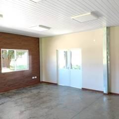 Edificio descanso KWS. Manuel Ocampo.: Edificios de Oficinas de estilo  por do Arquitectura (Construcción en Steel Framing y SIPANEL),Industrial