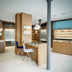 Offices & stores توسطAlessandra Pisi / Pisi Design Architetti, مینیمالیستیک چوب Wood effect