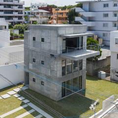 Kaya Villa Onna: 株式会社クレールアーキラボが手掛けた一戸建て住宅です。,オリジナル コンクリート