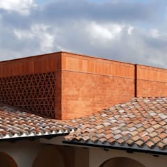 od AGE/Alejandro Gaona Estudio Rustykalny Cegły