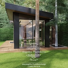 Terrace by Дизайн-студия элитных интерьеров Анжелики Прудниковой, Industrial