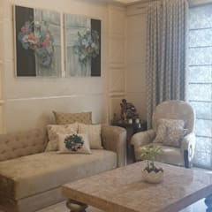 apatment Classic style living room by Tanish Dzignz Classic