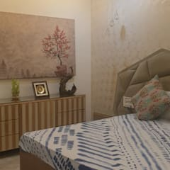 apatment Classic style bedroom by Tanish Dzignz Classic