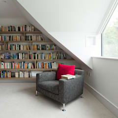 Weaving House Scandinavian style living room by Fraher and Findlay Scandinavian