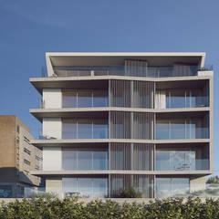 Sónia Cruz - Arquitecturaが手掛けた二世帯住宅, ミニマル