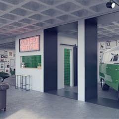 Car Dealerships by Rafaela Fraga Brás Design de Interiores & Homestyling , Industrial Concrete