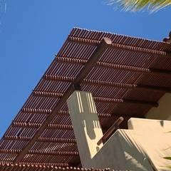 Terrace by Resinas del Pacifico, Rustic