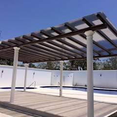 Lean-to roof by Resinas del Pacifico, Modern