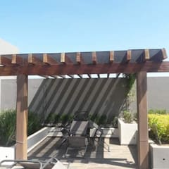 Lean-to roof by Resinas del Pacifico, Rustic