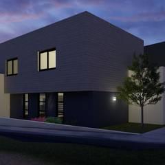 Rumah pasif oleh CONSTRUYE IDEAS, Modern Kayu Lapis