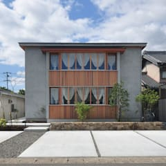 de ツジデザイン一級建築士事務所 Asiático Madera Acabado en madera