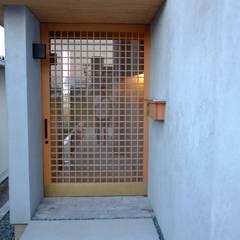 الممر والمدخل تنفيذ ツジデザイン一級建築士事務所, أسيوي
