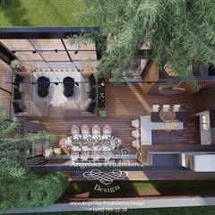 Terrazas de estilo  por Дизайн-студия элитных интерьеров Анжелики Прудниковой, Industrial