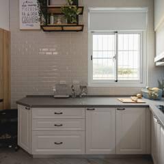 Kitchen units by 愛上生活室內設計, Scandinavian