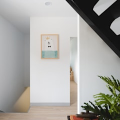 Stairs by 愛上生活室內設計, Scandinavian