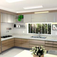 Modern kitchen by Joana Rezende Arquitetura e Arte Modern