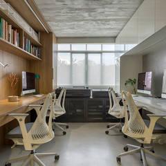 Ruang Komersial Modern Oleh SAINZ arquitetura Modern Beton