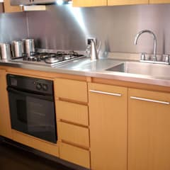 espacios: Cocinas pequeñas de estilo  por David Fernando Enciso, Moderno