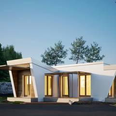 Passive house by MASSIMO CALOSI, Modern