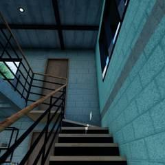 Stairs by Arq. Rodrigo Culebro Sánchez, Industrial