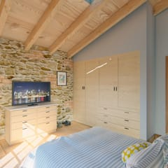 Small bedroom by Arq. Rodrigo Culebro Sánchez, Rustic