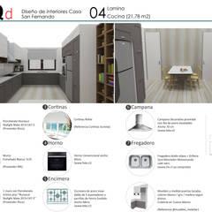 Kitchen units by ARQD spa, Scandinavian