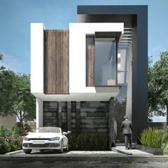 Increíble diseño de casa de lujo: Casas de estilo  por Rebora, Moderno